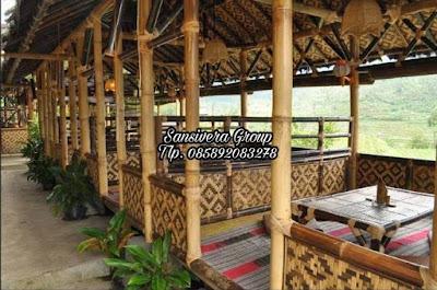 Saung Bambu Lesehan