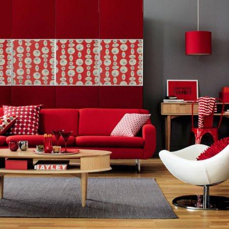 ma ra morem arquitetura interiores color vermelho. Black Bedroom Furniture Sets. Home Design Ideas