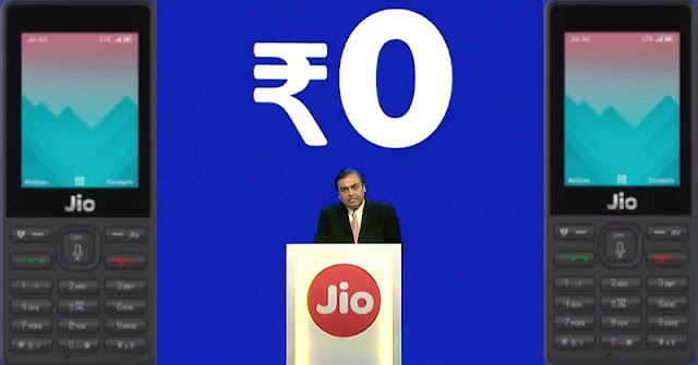At Reliance AGM, Mukesh launches JioPhone which is effectively free