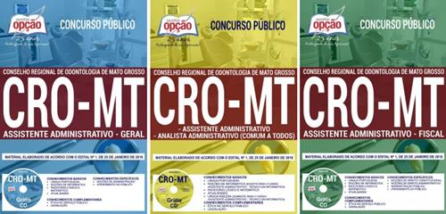 apostila-assistente-administrativo-geral-concurso-cro-mt-2018