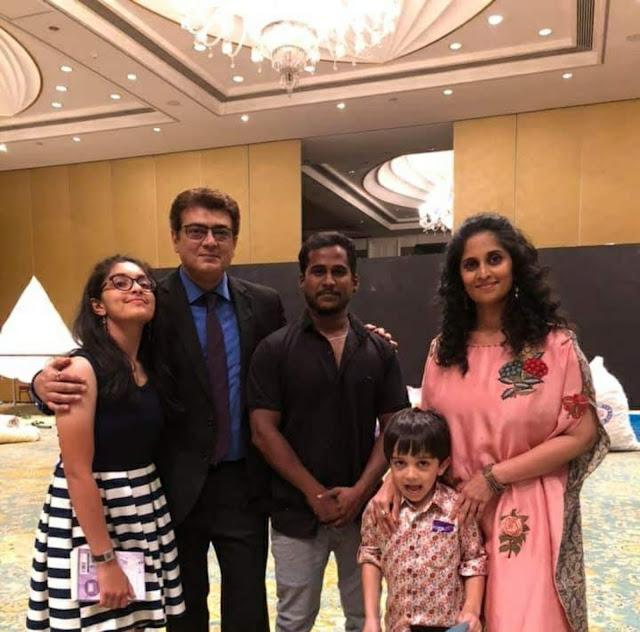 thala ajith family photo