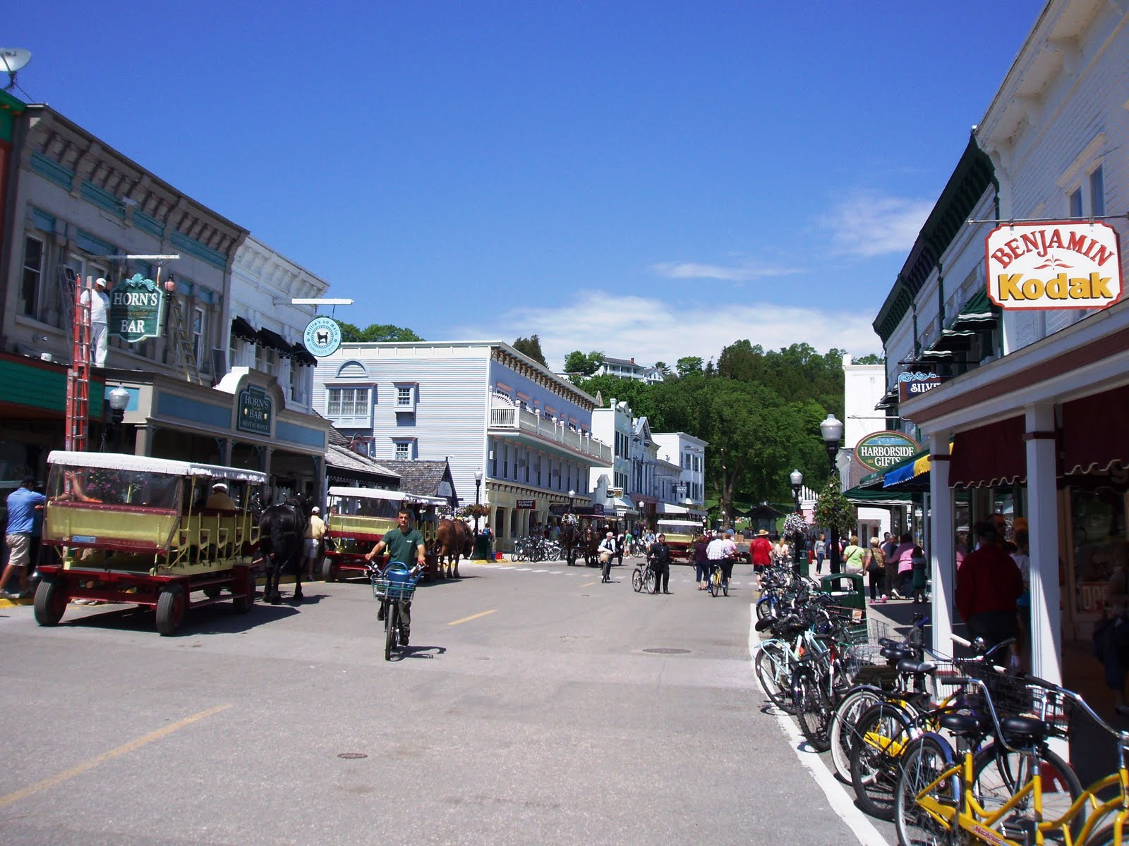 History and Culture by Bicycle: Mackinac Island |Mackinac Island Bicycle Cafe