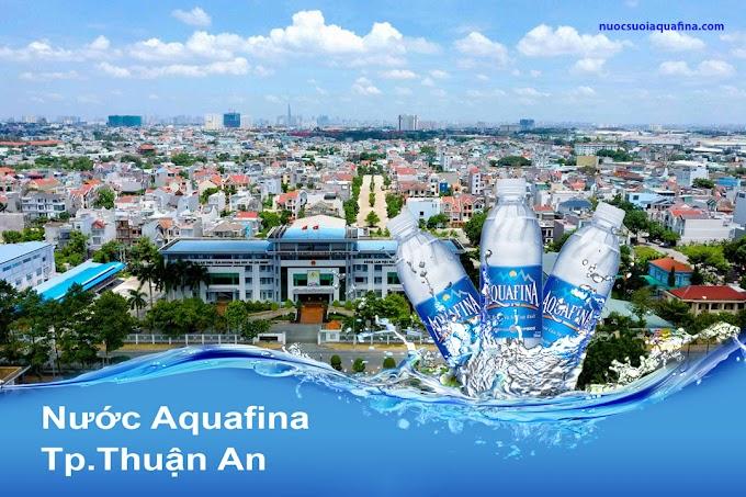 Đại lý nước Aquafina Hoàng An - Bình Dương