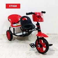 sepeda roda tiga anak exotic