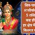 शिव-पार्वती के आशीर्वाद से इन 5 राशियों के कष्ट होंगे दूर, हर क्षेत्र में किस्मत का मिलेगा साथ