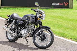 AJS Cadwell 125 Review, The Fun Factor!