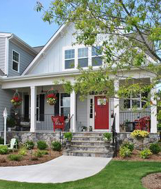 Enhancing a home's curb appeal