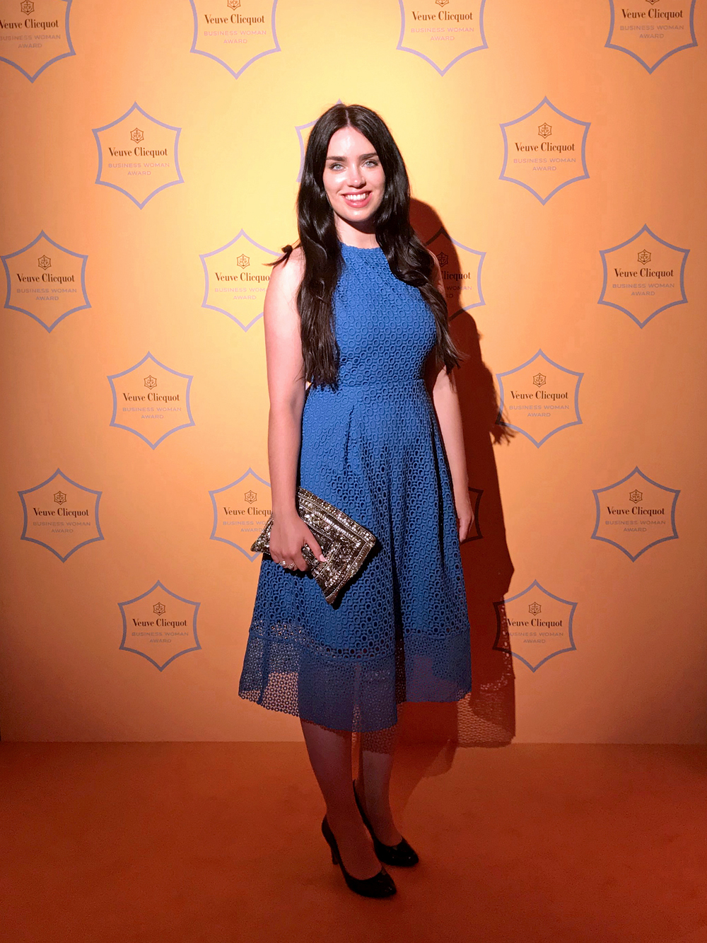 Emma Louise Layla at the Veuve Clicquot Business Woman of the Year Awards 2018 - London lifestyle blog