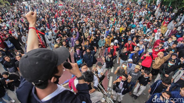 Dukung Aksi Mahasiswa Demo Setahun Jokowi-Maruf, Aliansi Dosen: Demo Dijamin Konstitusi