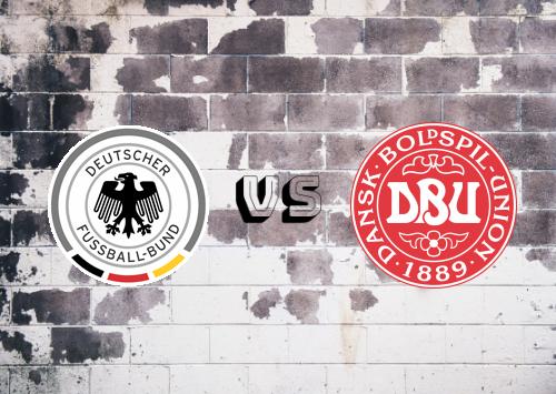 Alemania vs Dinamarca  Resumen y Partido Completo