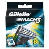 Gillette Mach3 Refill - 8 Count