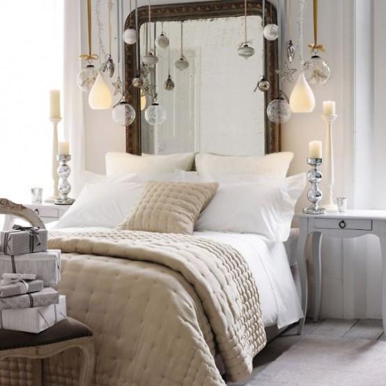 Bedroom Decorating Ideas: 32 Decoraciones De Navidad Para Tu Dormitorio