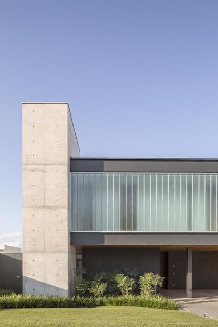 Projeto Casa Ribas criado pelo Estúdio MRGB - Elementos Estruturais em Concreto