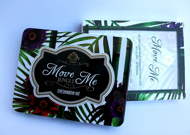 Viva La Diva Move Me Jungle eyeshadow kit: the packaging