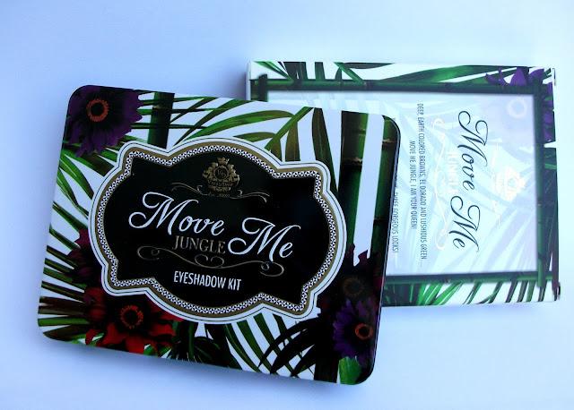 Viva La Diva Move Me Jungle eyeshadow kit: the packaging