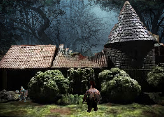 Icehammer Dwarves enter the Woodland Manse