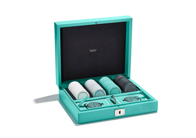 Tiffany & Co Mahjong Set 80 Money Chips