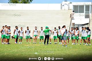 Oriente Petrolero entrena en el Estadio del Distrito Municipal 6 - DaleOoo