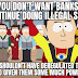 I can't believe this needs to be said after the discovery of NK money laundering (Meme)