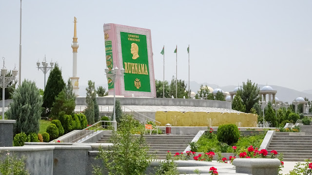 Everybody has to read it in Turkmenistan to be accepted in school