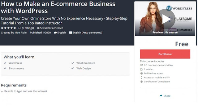 [100% Free] How to Make an E-commerce Business with WordPress
