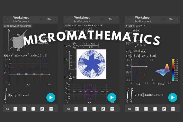 microMathematics - Μία πανίσχυρη επιστημονική αριθμομηχανή με υποστήριξη γραφικών για Android