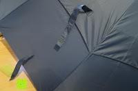 Klett: Golf Regenschirm, Pomelo Best Automatik auf Windresistent mit 128cm Durchmesser aus robusten 190T Pongee Stockschirm geeignet für 3-4 Personen