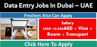 Data Entry Operator Recruitment in Merchandising Department based Dubai Location