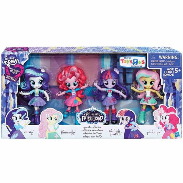 Toys Quot R Quot Us Shows Equestria Girls Minis Sparkle Collection