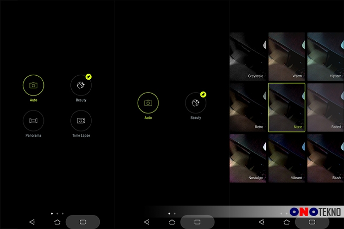 Mode Kamera Zenfone Live L1