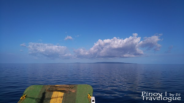 Camotes Islands seen from afar