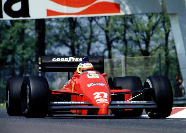 Intitolata a Michele Alboreto la curva parabolica autodromo di Monza