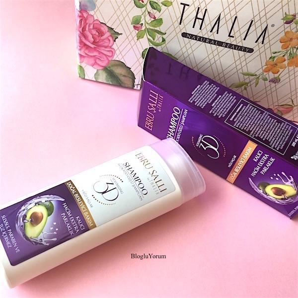 thalia natural beauty ebru şallı by thalia avokado özlü şampuan yağlı saçlar için