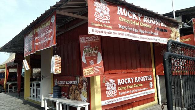 rocky rooster pondok pinang