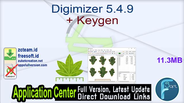 Digimizer 5.4.9 + Keygen