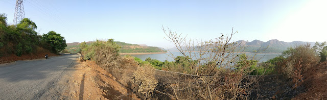 bike ride to mulshi dam