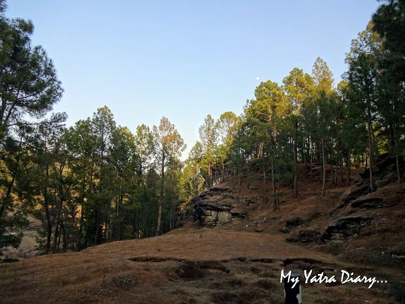Historic caves Lakhudiyar caves in Almora Uttarakhand