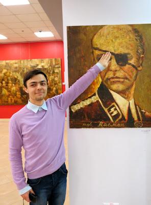 Выставка Шерешевского вызвала спонтанную зрительскую активность)
