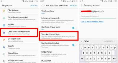 Cara Setting Kendali jarak jauh HP Samsung
