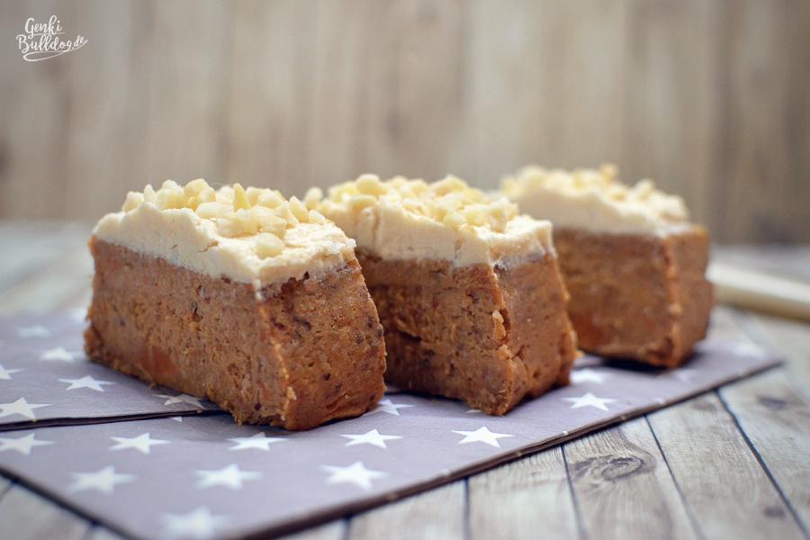 Rezept: Süßkartoffel Kuchen für Hunde