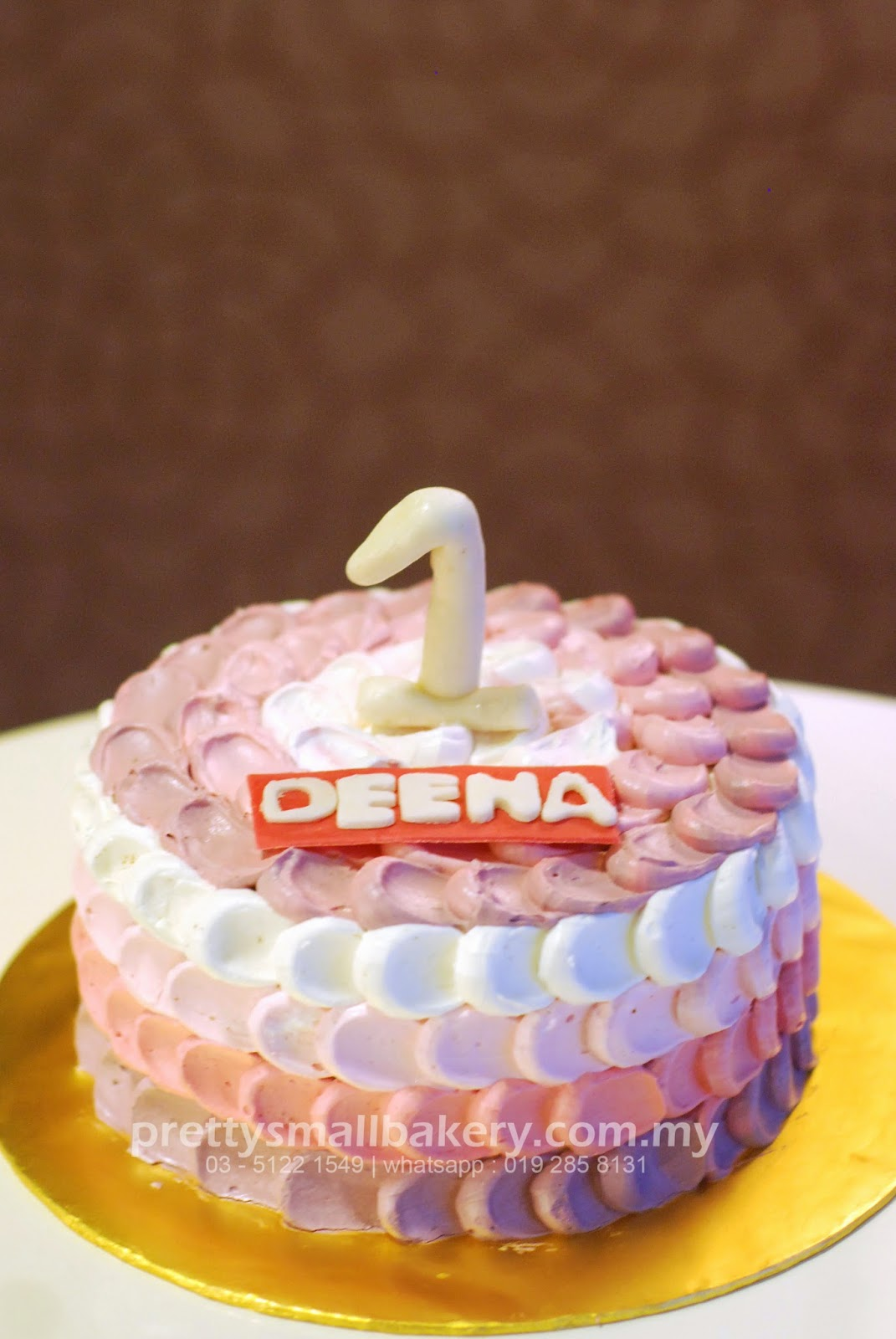 kek birthday simple  Prettysmallbakery