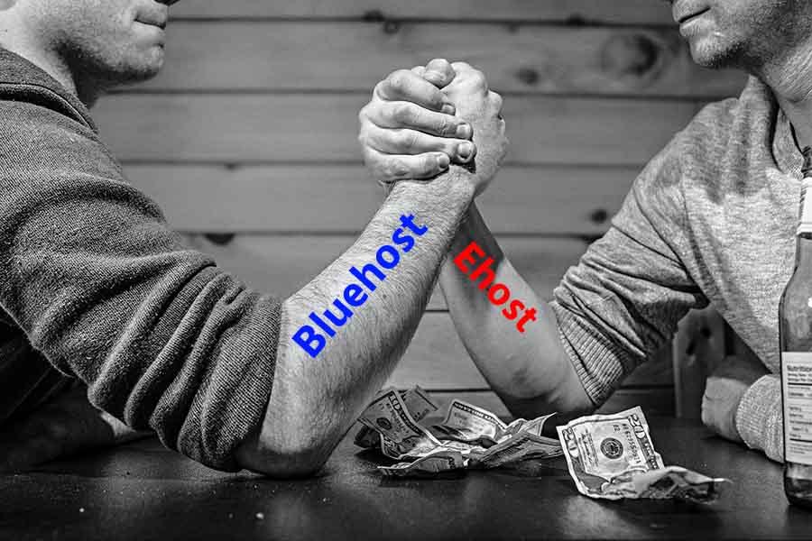 EHost Vs BlueHost