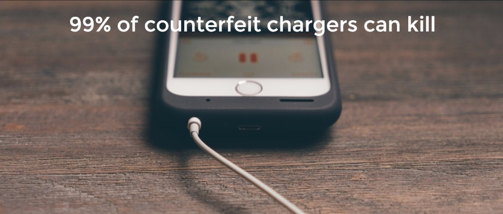 fake phone chargers can kill you