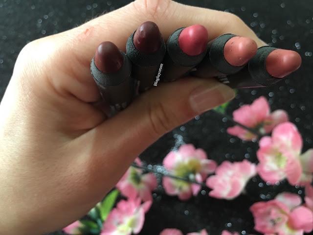 golden rose matte lipstick crayon rujlar 01-02-11-18-21