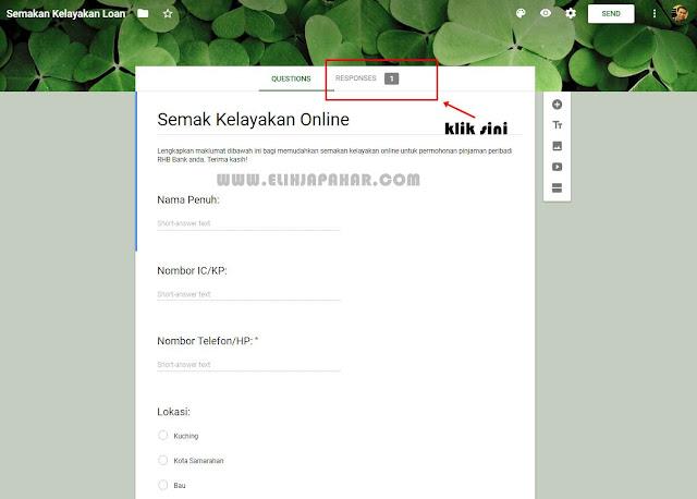 Cara Aktifkan Pemberitahuan Email Untuk Borang Google Form