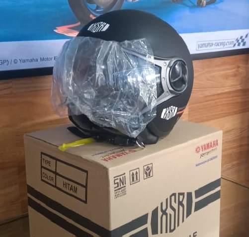 Helm XSR155 Depan