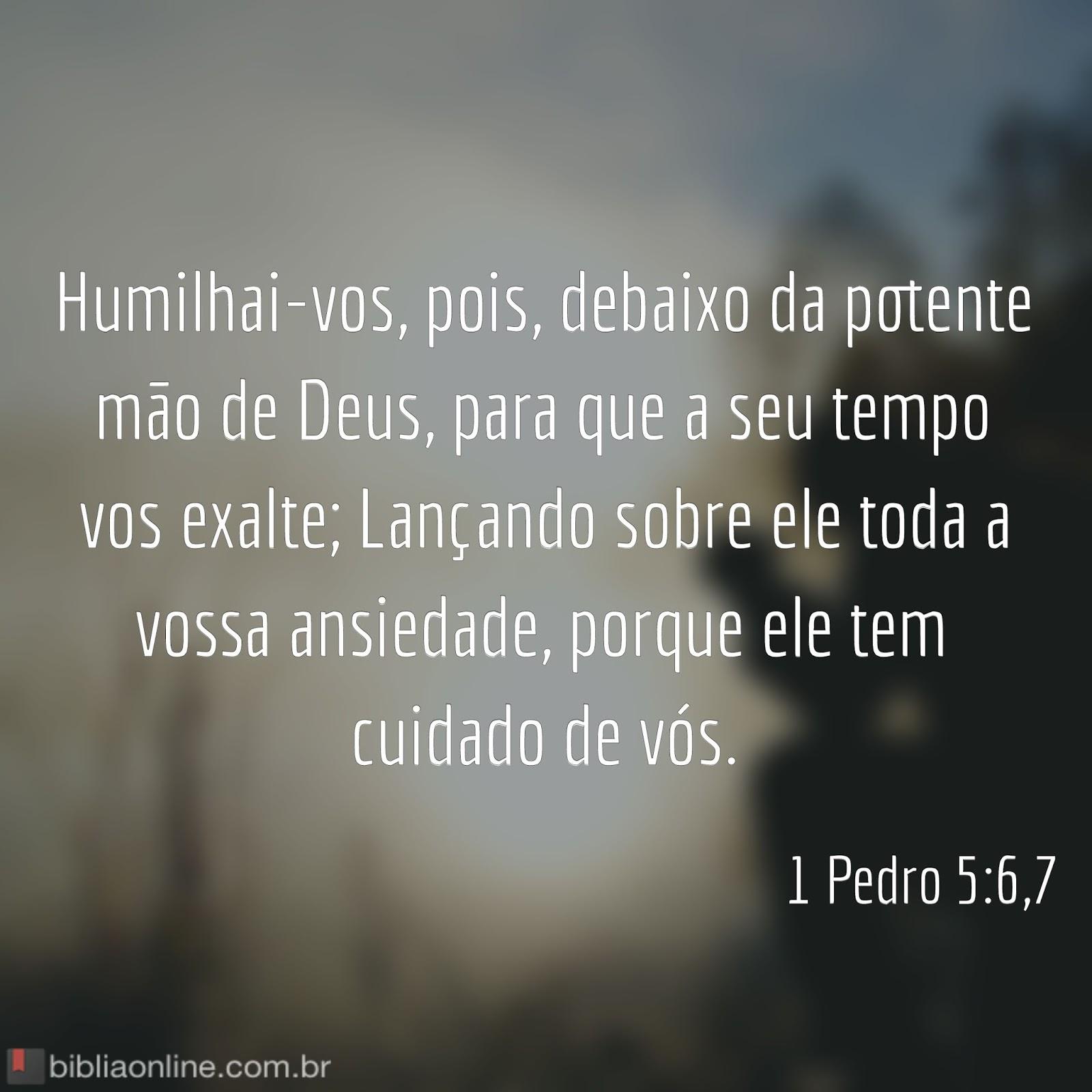 """Suficiente Blog do Smay: Versículos para Meditar: 1 Pedro 5:6-7 - """"Humilhai  ZE04"""