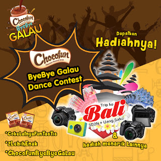Chocofun Bye Bye Galau Dance Contest