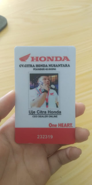 Id Card CEO Honda
