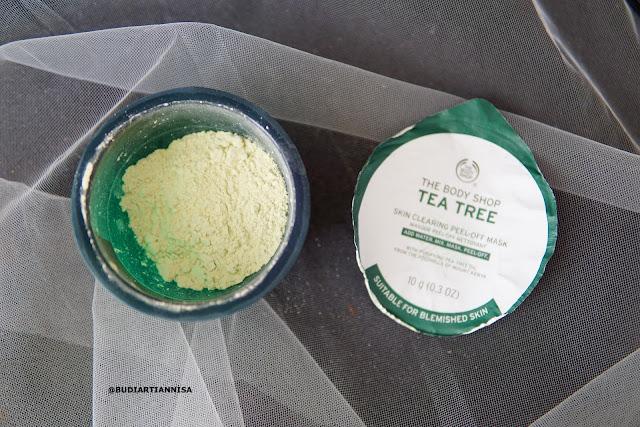 TEA TREE PEEL OFF MASK THE BODY SHOP